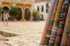 Souvenirs from Colombia stock images
