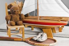 Souvenirs d'enfance et de jeunesse Images stock