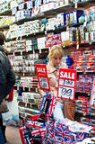 Souvenirs de Londres Photos stock