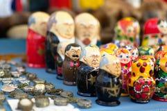 Souvenirs de perestroïka photo stock