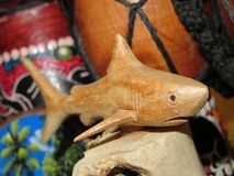 Souvenirs de requin photographie stock