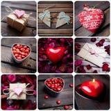 Souvenirs de Valentine Images libres de droits