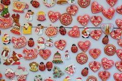 Souvenirs de Zagreb chez Advent Fair à Zagreb Photographie stock