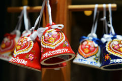 Souvenirs in Dubrovnik, Croatia stock images