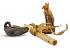 Souvenirs fabriqués par l'homme créateurs d'Egypte Images stock
