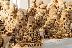 Souvenirs faits maison de maison dans Cappadocia image stock