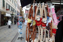 Souvenirs in Gibraltar Royalty Free Stock Photo