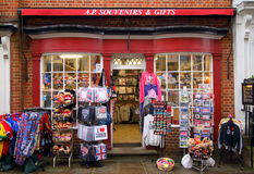 Souvenirs and Gifts Shop stock images