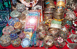 Souvenirs at Goa market Stock Image