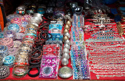 Souvenirs at Goa market Stock Photography