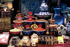 Souvenirs of Istanbul stock image