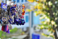 Souvenirs of Istanbul. This image was taken in Istanbul during my travel to this city, very beautiful local art and souvenirs Stock Photos