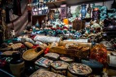 Souvenirs at the Jade market Royalty Free Stock Photo