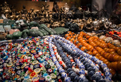 Souvenirs at the Jade market Royalty Free Stock Images