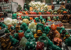 Souvenirs at the Jade market Stock Photography