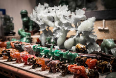 Souvenirs at the Jade market Stock Photo