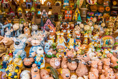 Souvenirs. In Jurmala outdoors shop Royalty Free Stock Photography