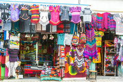 Souvenirs in La Paz, Bolivia Royalty Free Stock Photo