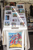 Souvenirs of Little Italy, Manhattan, New York, United States. Souvenirs for sale in New York Royalty Free Stock Image