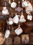 Souvenirs made of clay Royalty Free Stock Photography