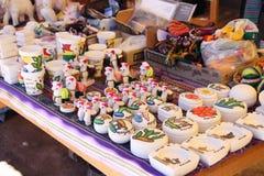 Souvenirs made from salt in Salar de Uyuni, Bolivia Stock Photography