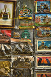 Souvenirs magnets with views of  St. Petersburg Stock Photos