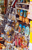 Souvenirs Market at Streets of Jerusalem Old City Stock Images