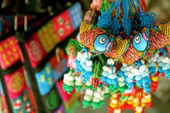 Souvenirs at market , the tourist capital of Vietnam. Stock Image