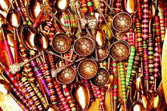 Souvenirs from Morocco Royalty Free Stock Images