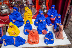 Souvenirs. Of Morocco in Marrakech market Royalty Free Stock Photography