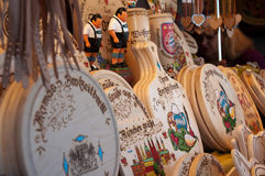 Souvenirs on Oktoberfest in Munich Stock Photography