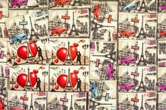 Souvenirs from Paris Stock Photos