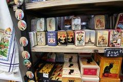 Souvenirs. Paris Stock Image