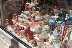 Souvenirs  of Porec (Parenzo).  Istra, Croatia Royalty Free Stock Photography