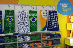 Souvenirs from Rio2016 Olympic games Royalty Free Stock Photos