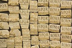 Souvenirs of Rome, Italy Stock Image