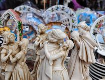 Souvenirs of Romeo and Juliet kissing royalty free stock image