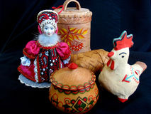 Souvenirs russes Photo stock