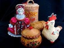 Souvenirs russes photo stock