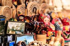 Souvenirs russes Image libre de droits