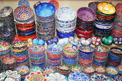 Souvenirs on sale Royalty Free Stock Photography