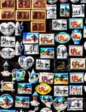 Sarajevo souvenirs for sale Royalty Free Stock Images