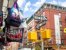 Souvenirs for sale in New York Stock Image