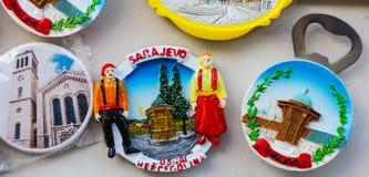 Souvenirs for sale Stock Image