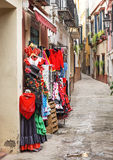 Souvenirs in Seville Andalucia Spain Stock Photo