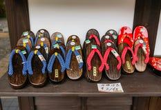 Souvenirs in Shirakawa-go Royalty Free Stock Images