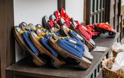 Souvenirs in Shirakawa-go Stock Photo