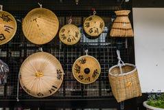 Souvenirs in Shirakawa-go Stock Photos