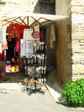 Souvenirs shop. A souvenirs shop in France Stock Photo