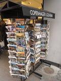 Souvenirs shop in Copenhagen Stock Photography